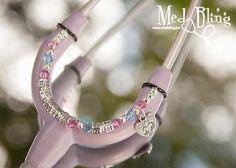 Personalized Stethoscope ID Jewelry -Perfect for the OB/GYN nurse!!