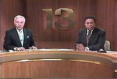 A 1970s memory of Jerry Turner and Al Sanders at Channel 13/WJZ.....