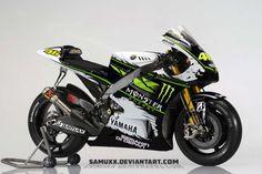 Quelle look pour la Yamaha M1 de Rossi ?
