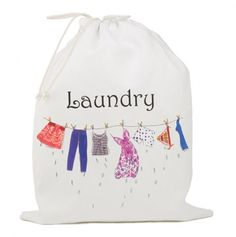 Cute Laundry Bags wash me! travel laundry bag weddingshop.theknot/wash-me-travel