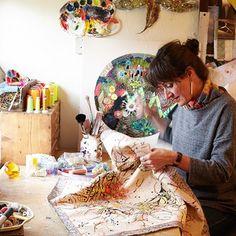 Studio tour: Louise Gardiner