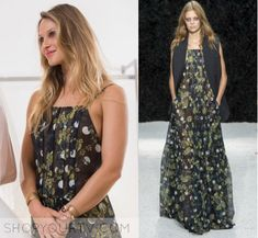 """Phoebe Wells (Beau Garrett) wears this black floral maxi dress in this episode of Girlfriends' Guide to Divorce, """"Rule #14"""". It is [...]"""