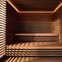 KLAFS - COM - saunas, steam baths, infrared heat cabins, spas and well-being Sauna Steam Room, Sauna Room, Piscina Spa, Sauna Heater, Sauna Design, Outdoor Sauna, Spa Rooms, Infrared Sauna, Modern Bathroom Design