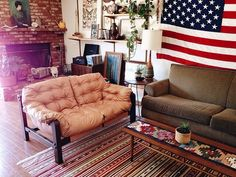 Man, I love everything about this living room.