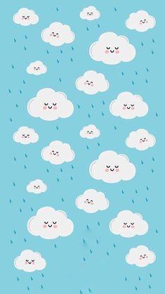 Wallpaper n uvem Cloud Wallpaper, Pastel Wallpaper, Kawaii Wallpaper, Galaxy Wallpaper, Iphone Wallpaper, Cute Wallpaper Backgrounds, Tumblr Wallpaper, Pretty Wallpapers, Mr Wonderful