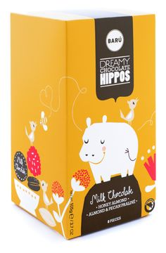 15 Amazing Yellow Food Packaging Designs