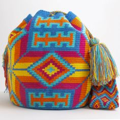 WAYUU TRIBE | #Handmade Boho Bags & Crochet Patterns made by the indigenous Wayuu Tribe in Colombia!