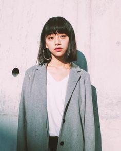 "alaska-seven: ""る鹿 "" Fashion Photo, Girl Fashion, Cut My Hair, Chinese Model, Girl Short Hair, Tokyo Fashion, Bob Hairstyles, Haircuts, Japanese Girl"
