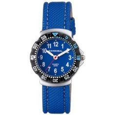 Cannibal Active Blue Dial & Leather Strap Children's Watch CJ091-04