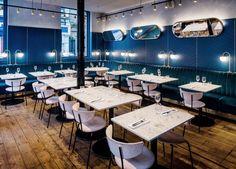 Clerkenwell Grind restaurant and bar by Biasol, London – UK » Retail Design Blog