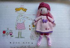 kış bebeğim çok severek yaptım Snowflakes, Crochet Hats, Amigurumi, Knitting Hats, Snow Flakes