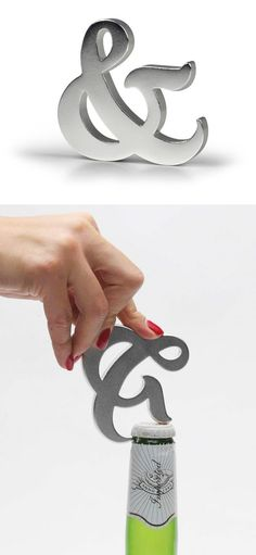 Ampersand bottle opener
