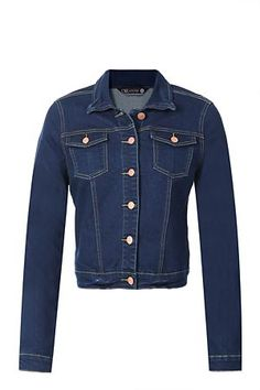 Oakridge denim jacket I have been saying the whole summer that I have to buy myself a proper denim jacket for this autumn and spring. And I always go for the darker wash Winter Essentials, Kawaii Fashion, Winter Wardrobe, Winter Outfits, Kids Fashion, Kimono, Denim, My Style, Long Sleeve
