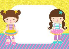 Olá amigas! Nossa moderadora Daniela fez esse lindo kit no tema circo para meninas. Espero que as mamães aproveitem esse tema tão lindo....