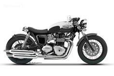 Triumph Bonneville Bobber Concept
