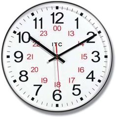 Infinity Instruments Business Prosaic 24 Wall Clock $13.99