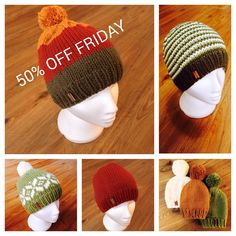 Having a huge one day only sale! Happy Friday! Enter TFIFRIDAY on checkout for 50% off my already extremely reasonably priced hats!