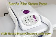 Sienna Elite Steam Press 25 x 10 Inch, 1350 Watts - $229.99  This #ironing #press is 7 times larger than the normal ironing surface. You can iron, clean, sanitize, and freshen anything in your wardrobe.  It reduces your ironing time up to 50%.  No chemicals are needed, just add water.  Visit us now to learn more!