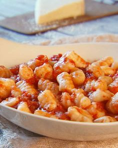 Although this recipe includes a pesto sauce, you can also serve the gnocchi with butter and cheese, pomodoro sauce, or ragu. From the book