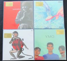 Online veilinghuis Catawiki: Yellow Magic Orchestra (YMO): Great lot of 4 albums (6LP's). All limited, numbered 180 gram LP's on TRANSPARANT vinyl. Long deleted editions!