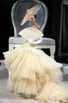 Dior couture | art, christian dior, couture, dior, fan - inspiring picture on Favim ...