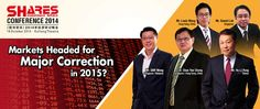 Shares Investment Conference 2014 | Date and Time: 18 October 2014, 9am-7pm | Venue: Kallang Theatre, 1 Stadium Walk, 397688, | Registration required #stockmarket #singapore #asia
