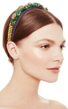Malachite Headband by Masterpeace Now Available on Moda Operandi
