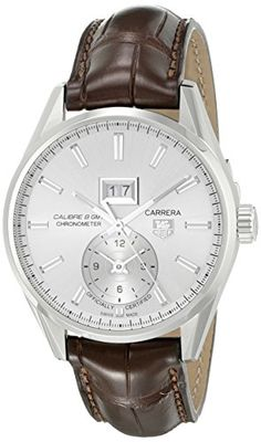 Men's Wrist Watches - TAG Heuer Mens WAR5011FC6291 Analog Display Swiss Automatic Brown Watch >>> Check this awesome product by going to the link at the image.
