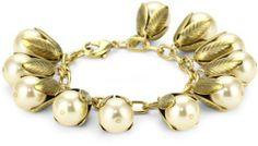"Lenora Dame ""Romantic"" Not Your Mother's Pearls Petal Bead Cap Bracelet in Cream Lenora Dame, http://www.amazon.com/dp/B007JUTF3C/ref=cm_sw_r_pi_dp_IBM1qb12901YM"