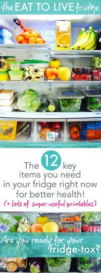 What to put in your fridge when you're on Dr. Fuhrman's Eat to Live program!  Learn how to makeover your refrigerator now for healthy clean-eating!