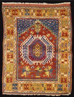 Bergama Prayer Rug 3rd Q 19th C Lot 11  #Bergama #Anatolian #Rug