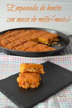 La cocina de Samira: Empanada de bonito con masa de millo (maíz)