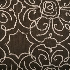 umber khaki collection from @John Robshaw Textiles for duralee #fabric #linen #brown
