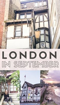 London in September: what to do, see and visit in the Big Smoke this month. How to spend September in London, England