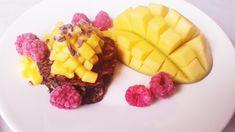 Chia-pannukakut mangochili-hillokkeella (gluteeniton, sokeriton) - Terveelliset herkut