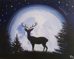 Paint Nite Kansascity | Stag Moon