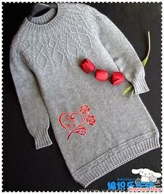 Knit Patterns, Pullover Sweaters, Knit Crochet, Diy And Crafts, Embroidery, Stitch, Knitting, How To Wear, Clothes