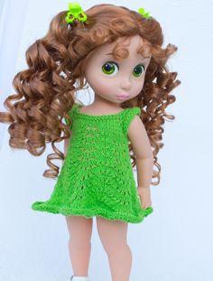 New dress pattern for Disney Animators dolls