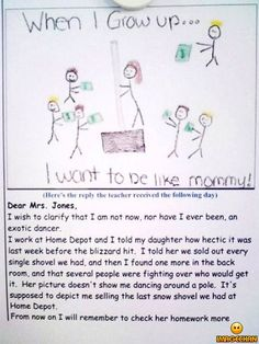 Why you need to check your child's homework! :D