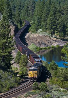 Feather River Coal Train by Andy Chabot on 500px.