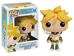 From the Vocaloid program comes one of the mascots in awesome Pop! Vinyl stylization! This Vocaloid Kagamine Len Pop! Vinyl Figure stands 3 3/4-Inch tall and makes a great gift for children and adult collectors alike. When you see just how cool Kagamine Len looks as a Pop! Vinyl Figure, you'll want to collect the rest in this line of Vocaloid Pop! Vinyl figures from Funko! Ages 5 and up. #funko #collectible #popvinyl #actionfigure #toy #anime #KagamineLen