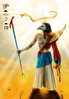 Ra - Sun God by Erebus74.deviantart.com on @deviantART
