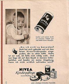 1952 Nivea Kinderpflege