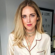 - Blogger Chiara Ferragni piles on pieces from her collab with Italian jewelry brand Schield.
