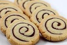 Nutella spiraal koekjes