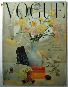 Vogue cover - May 15 1948 - Irving Penn