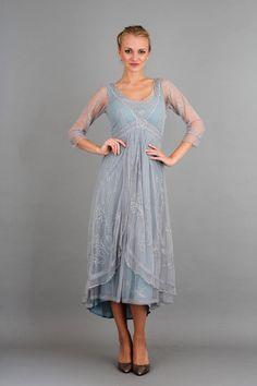 vintage-look dress