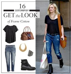 Get the look: Το πρωινό casual look της Fearne Cotton