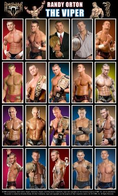 Randy orton over the years