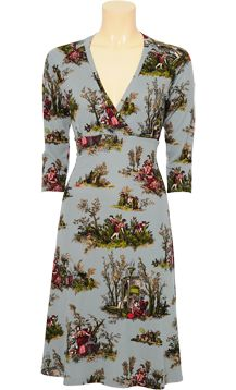 Toile de Jouy dress by King Louie
